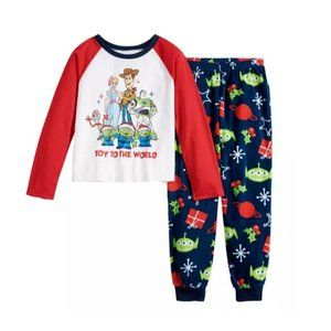 Disney Toy Story 4 2-PC Girl's Pajama Set Size 8